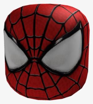 The Amazing Spider Man Mask Spider Man Mask Roblox Transparent