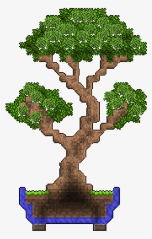 I Made A Bonsai Bonsai Tree Minecraft Transparent Png 368x544 Free Download On Nicepng