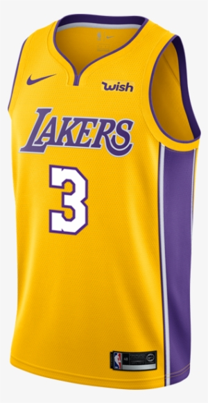0b8a6876473c Los Angeles Lakers Isaiah Thomas Icon Swingman Jersey - Lebron Lakers  Jersey 2018 · PNG