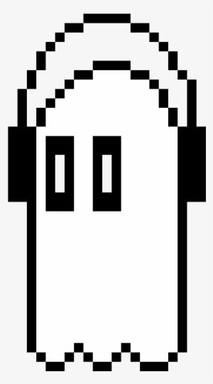 Napstablook Undertale Napstablook Pixel Transparent Png 290x470