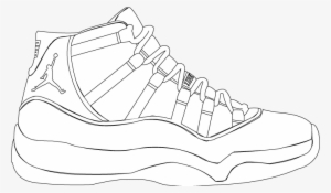 meet 88944 d0400 Drawn Jordania Concord - Jordan 11 Shoe Drawings