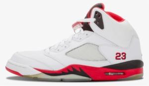 ff313abff3b Air Jordans Png - Air Jordan 5 Retro 8 Shoes White / Fire Red 136027 ...