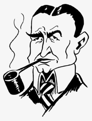 13 137647 gambar sketsa orang merokok