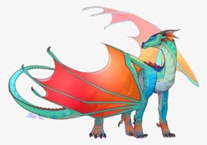 Cartoon Dragon Beautiful Dragon Dragon Party Wings