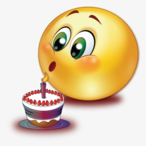 Boy Blowing Out Birthday Candles Royalty Free Vector Birthday Cake