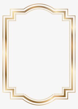 30c65b01e973 Gold Frame Border PNG   Download Transparent Gold Frame Border PNG ...