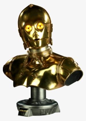 Threepio Tfa Fathead Star Wars C3po Png Transparent Png