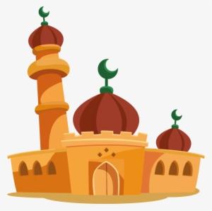 Masjid Animasi Gambar Islami