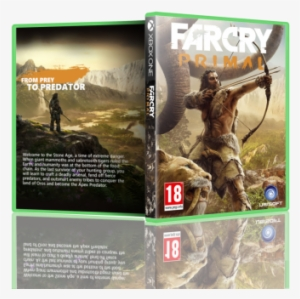 Far Cry Primal Box Art Cover Far Cry Primal Na Xbox 360 Transparent Png 700x364 Free Download On Nicepng