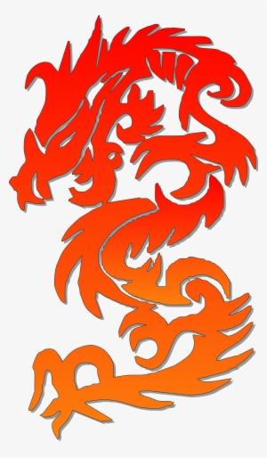 chinese dragon page new year border chinese dragon logo png