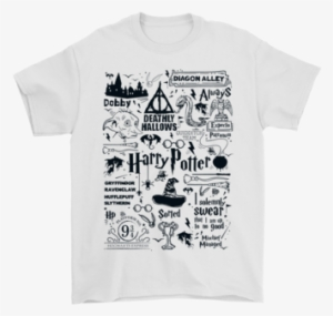 8c1343bb Harry Potter The Life In Hogwarts Shirts T Shirt Gildan - Hogwarts  Halloween T Shirt
