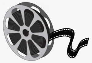 Movie Reel Clipart Video Film Cinema Png Movie Reel Clipart Black And White Transparent Png 640x440 Free Download On Nicepng