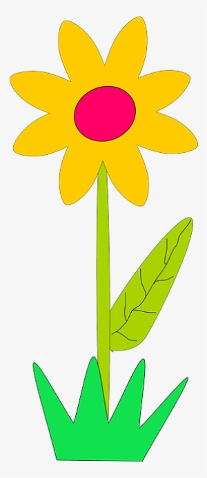 Yellow Plants Sun Flower Flowers Cartoon Border Cartoon Flower Gif Png Transparent Png 320x640 Free Download On Nicepng