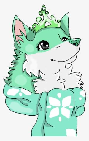Arctic Wolf Clipart Female - Cute Chibi Wolf Draw ...