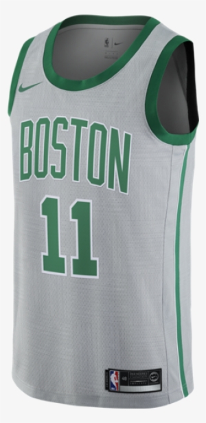 ea11dc96 Kyrie Irving City Edition Swingman Celtics Men's Nike - Boston Celtics Gray  Jersey