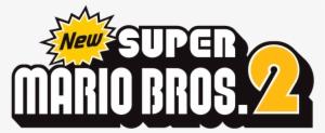 Press Releases Logo New Super Mario Bros Wii Transparent Png