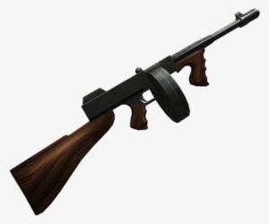 Tommy Gun Png Historic Timmy Gun Roblox Transparent Png