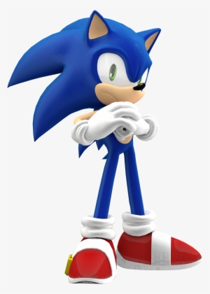 Sonic The Hedgehog By Spongedudecoolpants On Deviantart Sonic Forces Standard Edition Xbox One Transparent Png 1600x1667 Free Download On Nicepng