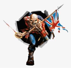 Vinilo Decorativo Mascota Iron Maiden Iron Maiden Eddie Emoji