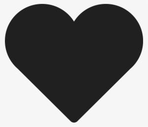 Black Heart PNG & Download Transparent Black Heart PNG