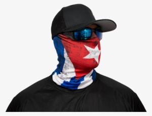 Salt Armour SA Co Official Black Skull Face Shield Balaclava Gaiter USA