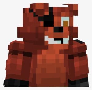 fnaf nightmare foxy minecraft skin