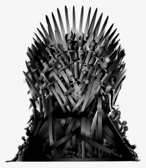 Game of thrones chair. Throne png download transparent