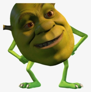 Shrek Meme Png Freeuse Monster Inc Transparent Png 609x621 Free Download On Nicepng