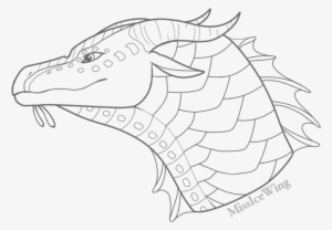 Seawing Headshot Base By Missicewing Headshot Base Wings Of Fire