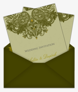 letter style indianasian email wedding card 2 an email wedding invitation