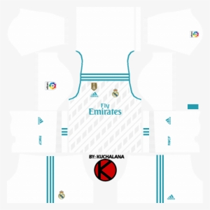 362f3e7994d Real Madrid Home Kits 2017 2018 - Dream League Soccer 2018 Portugal Kit
