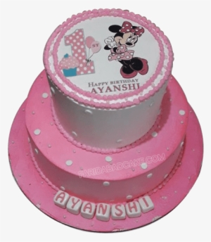 Swell Minnie Mouse Cake Birthday Cake With Price Transparent Png Funny Birthday Cards Online Alyptdamsfinfo
