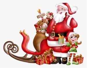 Pere Noel Santa Claus Blue Clipart Transparent Png 800x1400