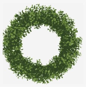 Christmas Wreath Vector Png Download Transparent Christmas Wreath
