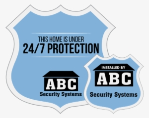 2 ADT Home Security Diecut Decals by SBD Decals