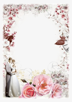 Wedding Photo Frame Png Wedding Frame Designs Png Transparent Transparent Png 400x566 Free Download On Nicepng