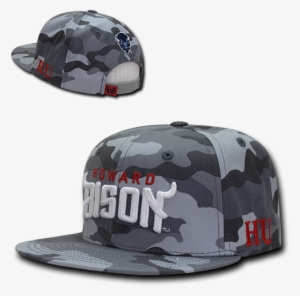 19978dcc634 Ncaa Howard University Bison Camo Camouflage Snapback. PNG