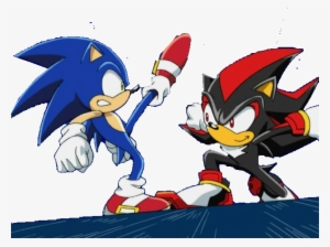 Sonic Vs Shadow Saga Sonic Vs Shadow Png Transparent Png 640x479 Free Download On Nicepng