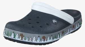 debcff5f1 Crocs Crocband Holiday Clog Black 60006-73 Womens Rubber - Crocband Holiday  Clog