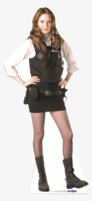 50f68f78f8b56 Stasc320 Doctor Who Amy Pond Police Cutout 3 - Doctor Who Amy Pond Kissogram