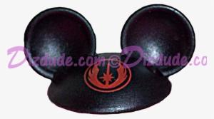 best service 7f307 f28d9 Black Mickey Mouse Ears Hat Part ~ Disney Star Wars - Eye Shadow