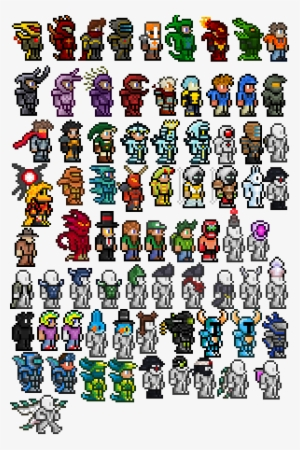 All Armor Terraria All Vanity Items Transparent Png