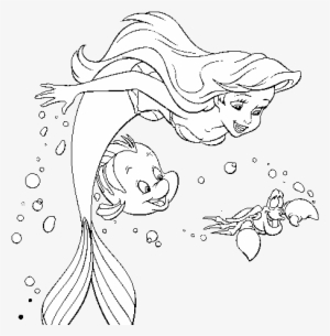 The Little Mermaid Statue in Copenhagen coloring page | Free ... | 305x300