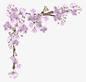Wedding Flowers Border Png Download Transparent Wedding Flowers