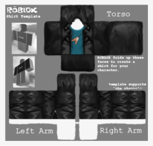 Black Roblox Face Template Guitar Tee With Black Jacket Roblox Girl Shirt Template Adidas Transparent Png 585x559 Free Download On Nicepng