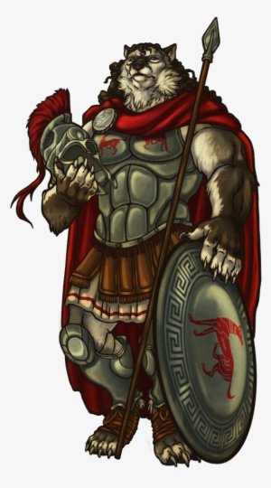 Anthro Adventures Anthro Hoplite Transparent Png 675x1080 Free Download On Nicepng
