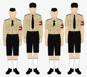 cf03969f5c4 Kids' Everyday Uniforms By Thefalconette On Deviantart - Hitlerjugend  Uniform By Deviantart