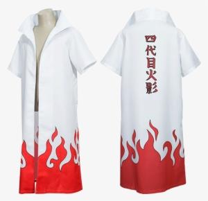 Naruto Clothes Weapons Cloak Cloak Four Generations Minato