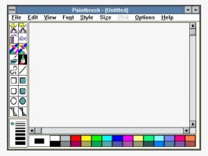 Lovely Ms Paint Transparent Background Windows 7 Рамка - Windows 95 Paint  Png Transparent PNG - 485x365 - Free Download on NicePNG