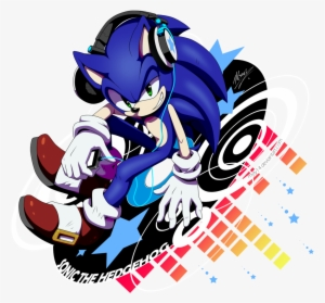 Sonic The Hedgehog With Headphones Musicfreetoedit Sonic The Hedgehog Music Transparent Png 1024x938 Free Download On Nicepng